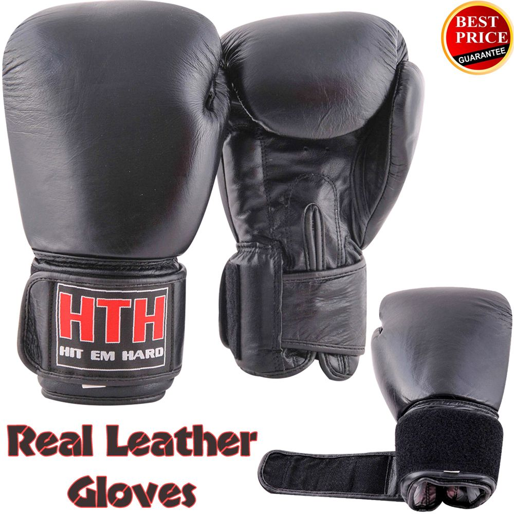 Head Multi Sport Gloves With Sensatec Black Large: Genuine Leather Boxing Gloves And Boxing Equipment